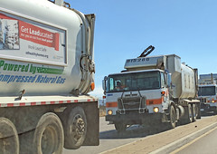 Garbage Truck 7-2-18 (2) (Photo Nut 2011) Tags: california garbagetruck trashtruck sanitation wastedisposal waste truck garbage junk trash refuse sandiego miramar 815286