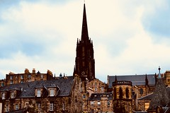 Edinburgh 'roof scape' - from Old Town (joanneclifford) Tags: scotland architecture oldtown edinburgh