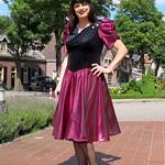 Metallic skirt thumbnail