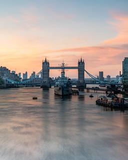 Tower Bridge Sunrise, London