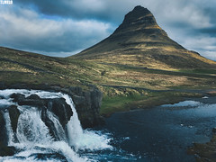 Kirkjufell - Church Mountain - Snæfellsnes Peninsula - Iceland (TLMELO) Tags: mount mountain montanha walking ice climb snow islandia iceland