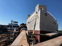Finishing Touches - Edna Lockwood (Chesapeake Bay Maritime Museum Photos) Tags: edna lockwood shipyard cbmm chesapeakebaymaritimemuseum