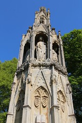 Eleanor Cross (richardr) Tags: england english britain british greatbritain uk unitedkingdom europe european old history heritage historic eleanorcross medieval northamptonshire northampton themidlands midlands hardingstone