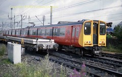 Mossend 314 216 Aug87b687 (Ernies Railway Archive) Tags: mossendyard cr lms scotrail