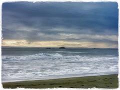 West coast dreaming.... (Sherrianne100) Tags: pacificocean ocean painterly waves beach westcoast