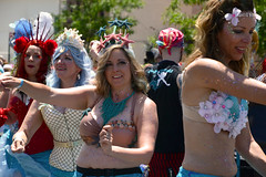 Mermaid Parade 2018 (Samicorn) Tags: nikon brooklyn mermaid costume parade summer june nyc newyorkcity boardwalk coneyisland sunny festival glitter shiny gothamist mermaidparade brokelyn dancers timeout