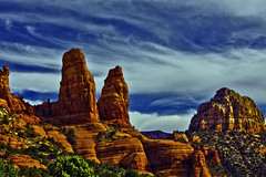 Sedona (oybay©) Tags: redrocks arizona sedona gorgeous beautiful color colors colorful nature natural sky skies clouds outdoor serene arch architecture