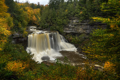 Blackwater Falls, West Virginia HDR (Brandon Kopp) Tags: 1635mm blackwaterfalls d750 hdr nature nikon outdoor photomatix travel vacation waterfall davis westvirginia unitedstates us statepark landscape landscapephotography fall autumn color colorful
