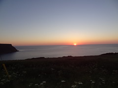 End of the Day in Gamrie Bay 1 (Saf37y) Tags: aberdeenshire sunset scotland sky sea seashore coast clouds costal gardenstown gamriebay gamrie morayfirth mhorhead endoftheday