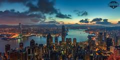 Hong Kong Trip - 22-Jun-2018 to 27-Jun-2018 0002 Marked (f/13 photography) Tags: hong kong sunrise sunset kowloon long exposure cityscape city night lights panoramic panorama pano technical camera medium format digital back phase one alpa 12 max rodenstock skyline