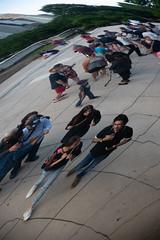Reflection_115222 (gpferd) Tags: bean chicago cloudgate landmark people reflection rotated illinois unitedstates us