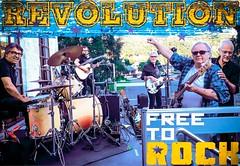 Free To Rock (Sun Foto) Tags: rock roll bryggerhuset kvinesdal gibson fender drum telecaster jazz bass