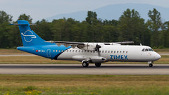 ATR 72-202(F) HB-ALL Zimex Aviation (William Musculus) Tags: aircraft spotting airport basel mulhouse freiburg bsl mlh eap lfsb euroairport hball zimex aviation atr 72202f 72200 72f 72200f