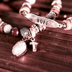 Bracelet set with a cross and