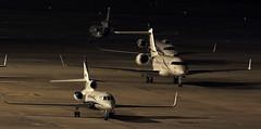 night in lebl (vic_206) Tags: bcn lebl night noche explore bizzjets jets avionesprivados barcelonaairport nocturna