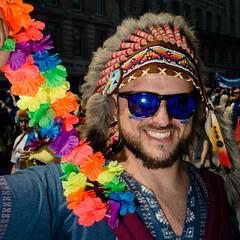 How (Sean Batten) Tags: london england unitedkingdom gb europe pride gaypride portrait nikon d800 50mm flash city urban street streetphotography