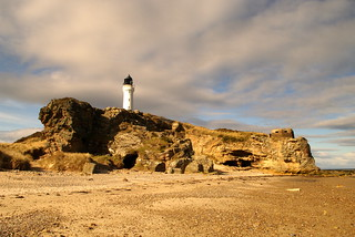 Covesea Lighthouse , Lossiemouth , Scotland