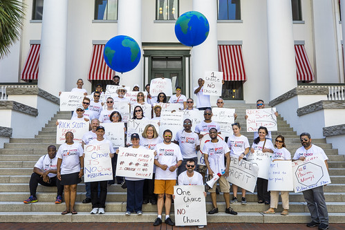Governor Rick Scott Protest, Tallahassee