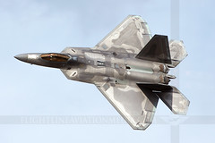 U.S. Air Force Lockheed F-22A Raptor # 08-4166 (Flightline Aviation Media) Tags: columbus airforce base afb cbm kcbm airport mississippi airshow lockheed f22 raptor military fighter airplane aircraft jet 084166 usaf 4970679