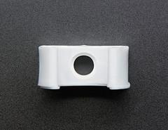 DC Motor Plastic Mount - 130 Size / 20mm Diameter (adafruit) Tags: 3843 robotics gearbox mounts