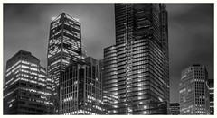 outer market manager (pbo31) Tags: sanfrancisco california city urban panorama large stitched panoramic monochrome blackandwhite boury pbo31 nikon d810 night dark folsomstreet financialdistrictsouth 181fremont fog construction parktower