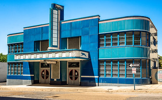 Old Greyhound Bus Station (c. 1938), v10, 219 N Lamar St, Jackson, MS, USA