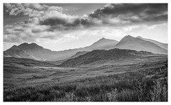 Gods Country (Rob Pitt) Tags: wales north road trip mountain cymru rob pitt photography snowdonia landscape a7rii sony sigma 70300mm blackwhite