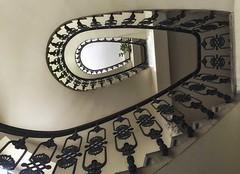 upstairs (try...error) Tags: stairs staircase treppenhaus eye auge architecture architektur building house escalier cage vienne wien vienna scala stiegenhaus