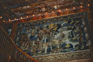 Vanderbilt Mansion National Historic Site - 19 Vanderbilt Park Rd, Hyde Park, NY 12538, USA - Interior Staircase