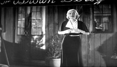 Brown Derby restaurant - film What Price Hollywood? 5511 (Brechtbug) Tags: constance bennett lowell sherman 1932 film what price hollywood standing front brown derby restaurant screen grab screengrab movie scene la los angeles ca california