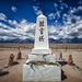 Manzanar Cemetery Monument (Jeff D. Muth) Tags: manzanar owensvalley mountwhitney mountwilliamson hwy395 cemetery manzanarcemeterymonument lonepine independence alabamahillsnationalrecreationarea alabamahills sierranevadarange sierranevada sierras