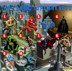 Top Ten DC Superheroes (AntMan3001) Tags: top ten dc superheroes