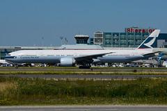 B-KQL (Cathay Pacific) (Steelhead 2010) Tags: boeing b777 b777300er yyz breg bkql cathaypacific