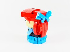 Ariel back (YOS Bricks) Tags: ariel brickheadz disney princess