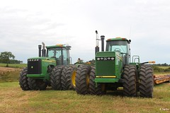 John Deere 8770 and 9620 (Mountvic Holsteins) Tags: john deere 8770 9620 tractors