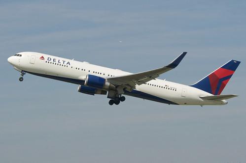 Delta Air Lines Boeing 767-300; N173DZ@ZRH;16.06.2018