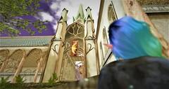 Tal En'anar Castle (RaineFiore) Tags: structures second life castle elves fantasy lynnea