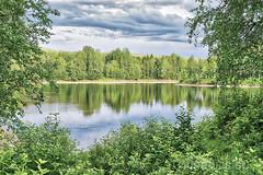 Den gröna älven (johan.bergenstrahle) Tags: 2018 älv evening finepicsse hdr june juni kväll landscape landskap långtid longexposure natur river sommar summer sverige sweden umeälv umeriver vännäs