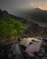 Incoming (Greg Whitton Photography) Tags: cymru landscape snowdonia sony summer wales a7rii dinorwic slate quarry storm stormy weather