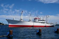 P1620817 (Lumixfan68) Tags: schiffe ships museumsschiffe museumsfrachter cap san diego kiel holtenau