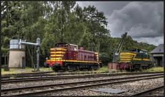 32) SSMN 856-AMTF 7309 - Fond-de-Gras (HDR), 17-06-2018 (dloc567) Tags: cfl amtf ssmn fonddegras 1604classics brissonneauetlotz nmbs sncb reeks73 serie73 serie850 train trein zug zuch luxemburg luxembourg lëtzebuerg