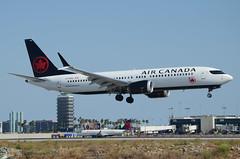 Air Canada 737 MAX 8 (C-FSEQ) LAX Approach 2 (hsckcwong) Tags: aircanada aircanadaairlines 737max8 cfseq lax klax