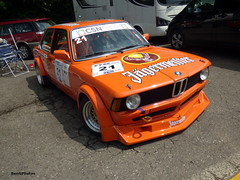 BMW E21 320i (BenGPhotos) Tags: 2018 masters historic festival brands hatch csn groep ytcc youngtimer touring car challenge orange race racing sports motorsport jagermeister bmw e21 320i