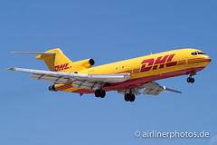 VH-DHE (Airlinerphotos.de) Tags: b727200 dhl syd