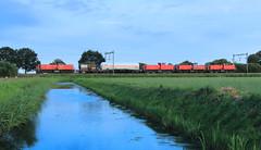 DB Cargo 6469+6516+6463-6416 @ Wijhe (Sicco Dierdorp) Tags: db dbc cargo serie6400 vlaamsereus unitcargo ketelwagen keteltrein omleiding ijssellijn zwolle wijhe olst onnen kijfhoek