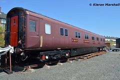 """""""NCC 26"""", Whitehead, 7/7/18 (hurricanemk1c) Tags: railways railway train trains 2018 rpsi railwaypreservationsocietyofireland whitehead brel britishrailengineeringltd mark3 10651 sleeper 26"""