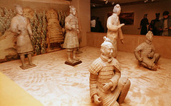 Terracotta Warriors (M McBey) Tags: terracotta warriors china figures statues edinburgh 1985 nikkormatftn 35mm nikkor