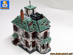 HAUNTED HOUSE 03 (baronsat) Tags: lego haunted house custom moc model scale alexander train rail h0 railroad victorian bates motel playset minifigs monsters ghosts ghostfacers hunters ghosthouse spirits of the dead parapsychologistssupernatural winchester mystery death building past 19e century steampunk violent tragic events murder accidental suicide