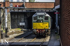 Ratatouille To Go (Bluke's Photography II) Tags: elr east lancashire railway diesel gala br british rail railways class 25 d5185 bury bolton street