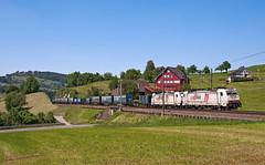 TTS (maurizio messa) Tags: tts switzerland uri br186 traxx bombardier cbrail crossrail 40085 mau bahn ferrovia freighttrain fret guterzuge cargo treni trains railway railroad